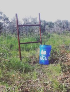 One of the STHRC's water stations. Photo: Sophie Smith.