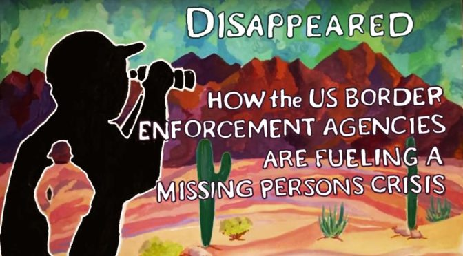 End the crisis of death and disappearance at the border!