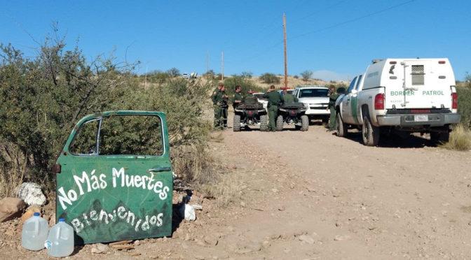 La Patrulla Fronteriza incursiona campamento de ayuda humanitaria en ataque dirigido