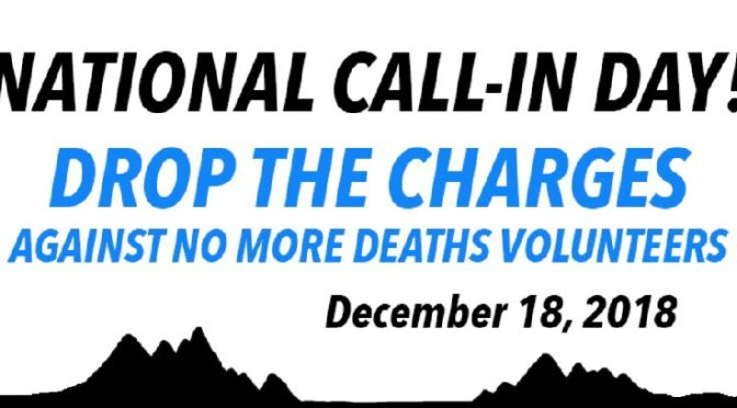 December 18th: National Call-In Day