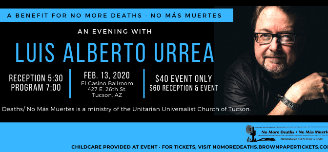 An Evening with Luis Alberto Urrea
